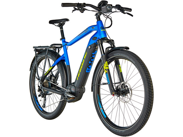 1dfd2da7b66e5c ▷ HAIBIKE SDURO Trekking 9.0 Herren schwarz blau gelb matt online bei  Bikester.ch